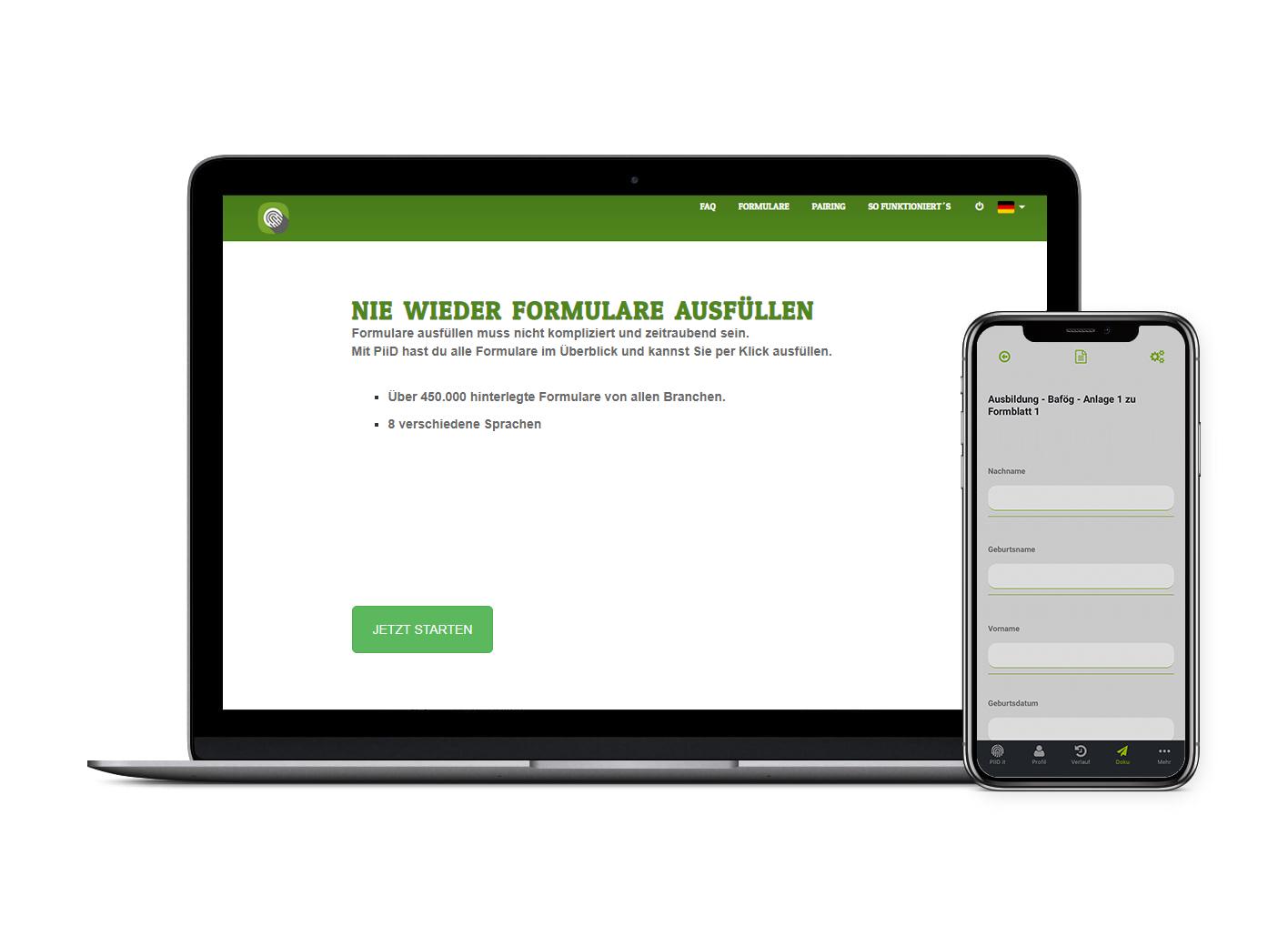 Die Registrierung für PiiD ist kostenlos. Lade dir jetzt die App im Play oder App Store und manage deine Versicherungen digital.